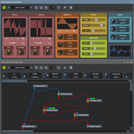 MUX Modular Synth and Effect Plug-In